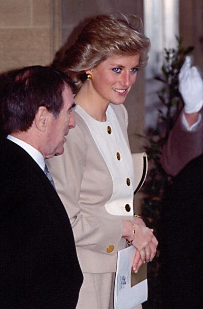princess Diana at a royal engagement