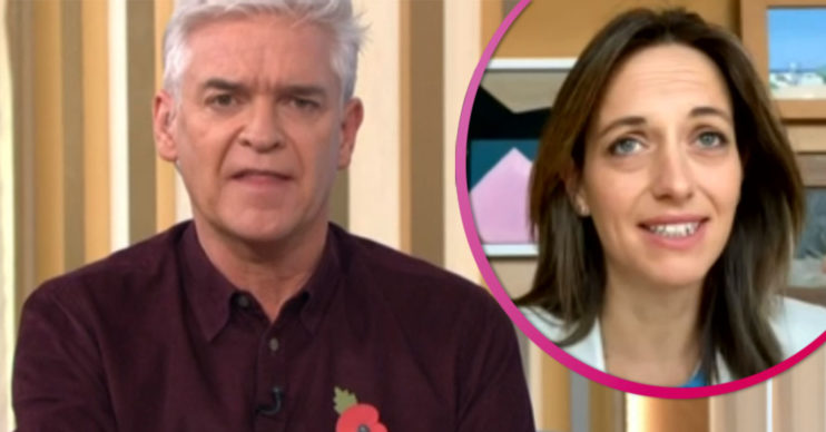 Phillip Schofield clashes with Helen Whately on This Morning
