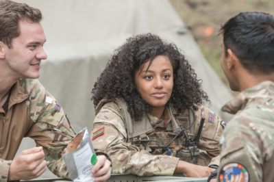 Shalom Brune-Franklin as Maisie Richards in Our Girl