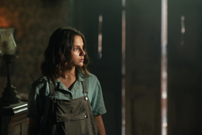 Dafne Keen plays Lyra in His Dark Materials