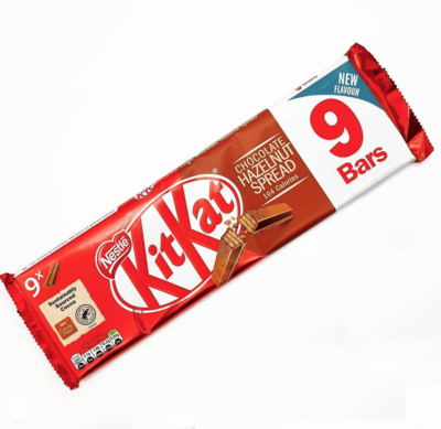 Packet of new KitKat Hazelnut Spread