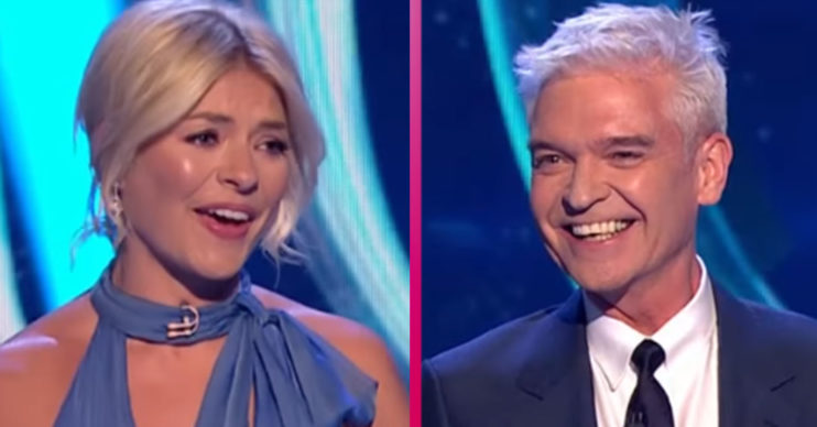 Holly and Phil on Dancing On Ice
