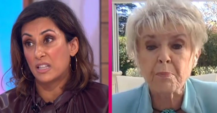 Loose Women stars Saira Khan and Gloria Hunniford