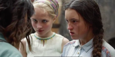 Bella Ramsey plays Angelica in His Dark Materials on BBC One