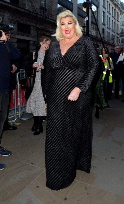 gemma collins on a night out