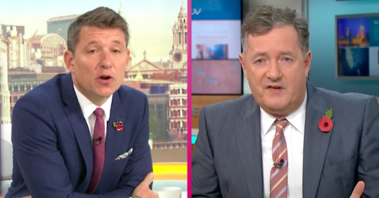 Piers Morgan Ben Shephard