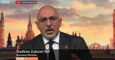 Nadhim Zahawi (Credit: BBC iPlayer)