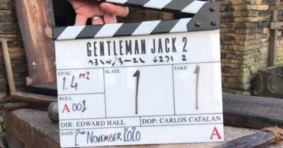 Gentleman Jack filming underway (Credit: BBC)