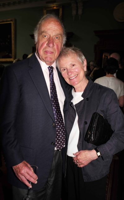Geoffrey and his wife Sally Green Palmer