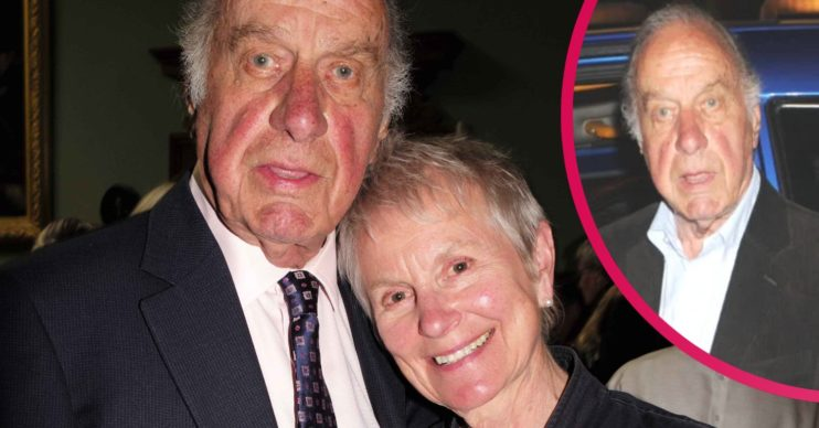 Geoffrey Palmer and his wife Sally Green Palmer