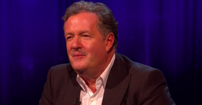 piers morgan on the set of piers morgan's life stories