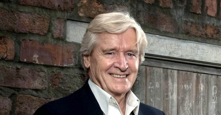 Bill Roache from Coronation Street