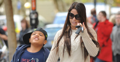 katie price with son harvey price as a child