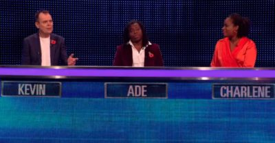 Celebrities compete on The Chase Celebrity Special