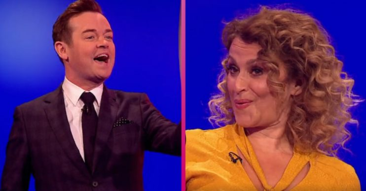 Catchphrase's Stephen Mulhern and Nadia Sawalha