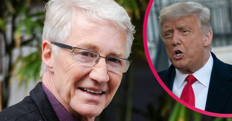 paul o'grady and president trump