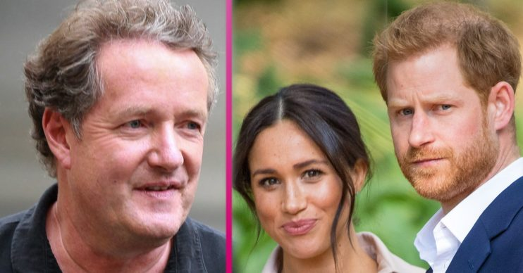 piers morgan and prince harry and meghan markle