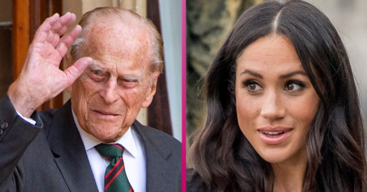 prince philip and meghan markle