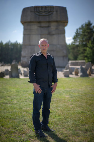 Programme Name: My Family, The Holocaust and Me with Robert Rinder - TX: n/a - Episode: n/a (No. n/a) - Picture Shows: at Treblinka (former NAZI death camp) in Poland. Robert Rinder - (C) Wall to Wall Media Ltd - Photographer: Tom Hayward