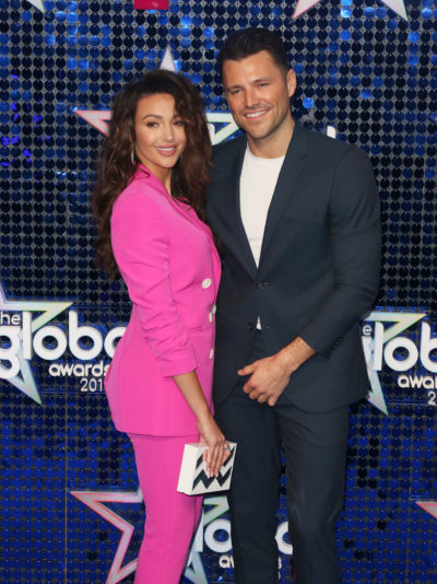 Michelle Keegan and Mark Wright on the red carpet