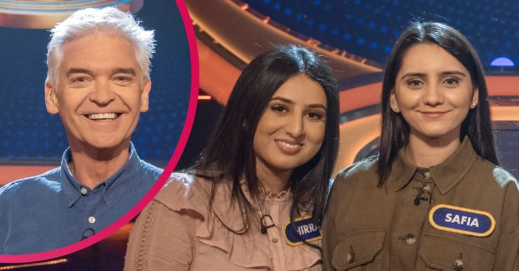 5 Gold Rings Hirra and Safia with Phillip Schofield