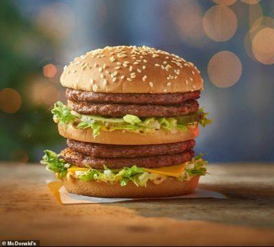 huge Christmas Big Mac