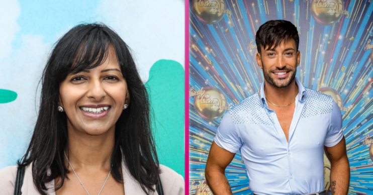 Strictly Ranvir Singh and Giovanni Pernice in Strictly romance rumours