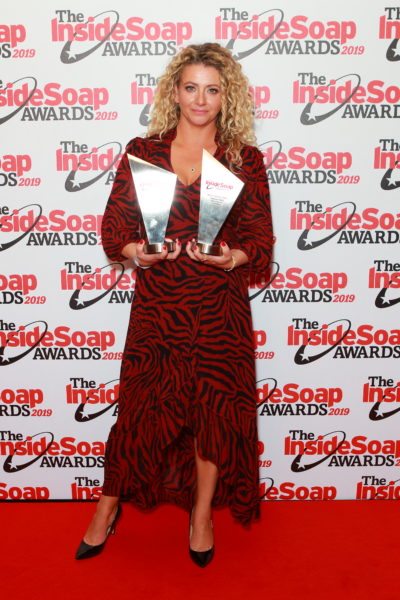 Louisa Clein attends soap awards