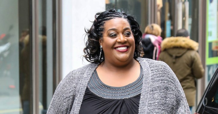 alison hammond walking outside