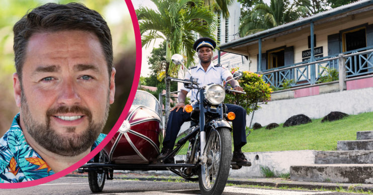Jason Manford in Death in Paradise season 10