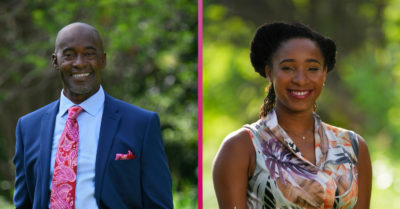 Death in Paradise: new stars Patrick Robinson and Shalisha James-Davis on set