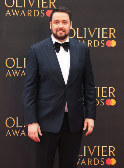 Jason Manford on the red carpet