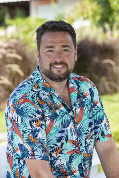Jason Manford still from Death in Paradise