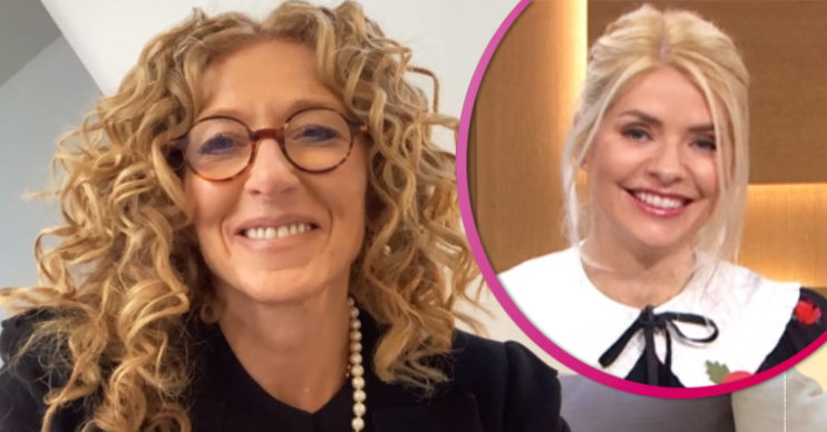 Kelly Hoppen on This Morning with Holly Willoughby