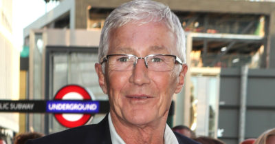 paul o'grady at london underground station