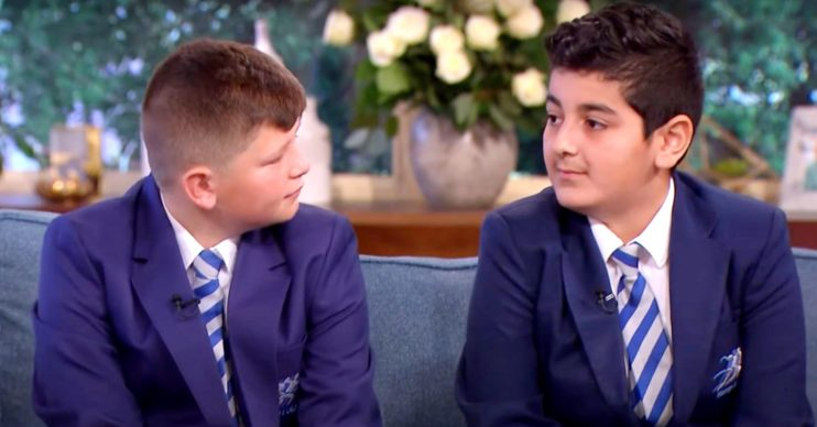 Rani and Jack from Educating Greater Manchester