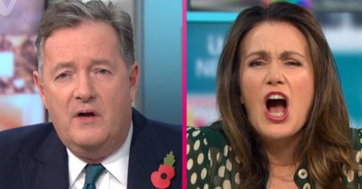 Piers Morgan and Susanna Reid clash on GMB