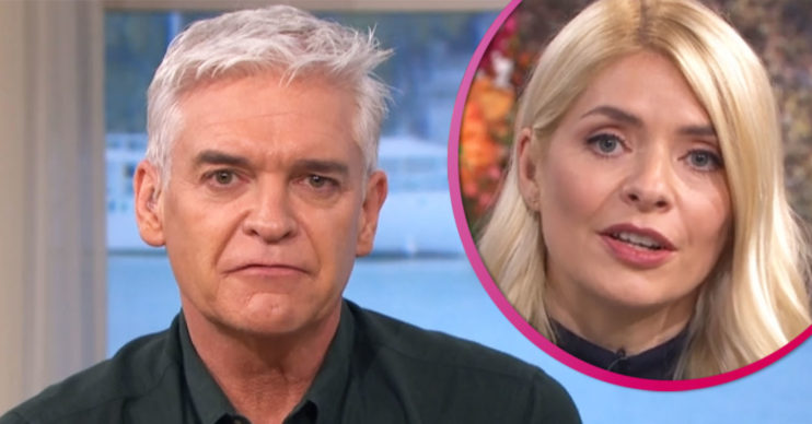 Phillip Schofield hosts this Morning with Holly Willoughby