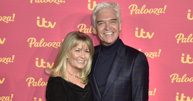 Phillip Schofield with his wife Steph at the ITV Palooza