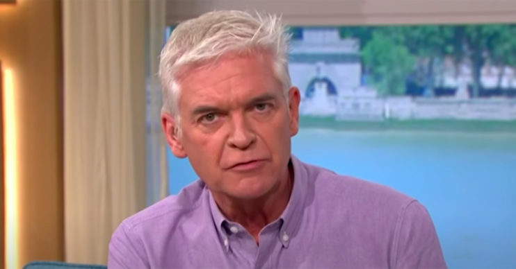 phillip schofield wears a skirt