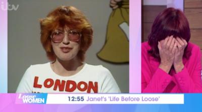 Janet Street Porter Loose Women throwback