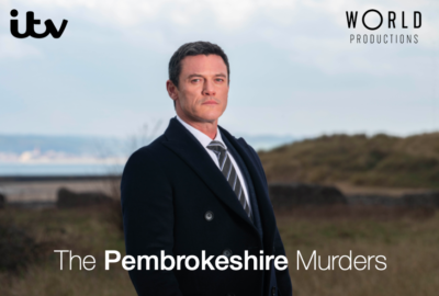 Luke Evans in The Pembrokeshire Murders