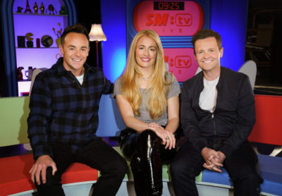 Cat Deeley reunites with Ant and Dec!