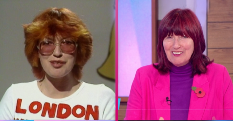 Janet Street Porter Loose Women throwback