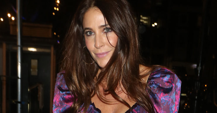 lisa snowdon at a red carpet event