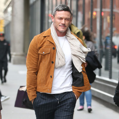 Luke Evans looking seriously hot