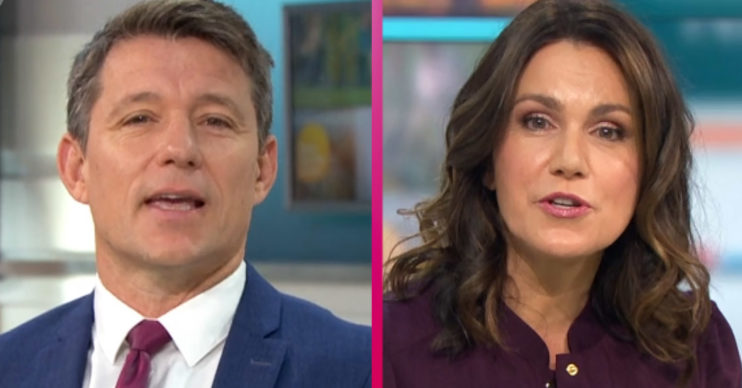 Ben Shephard and Susanna Reid moved by elderly couple on GMB