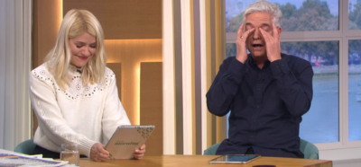 Holly and Phillip giggle on This Morning over rude vegetables