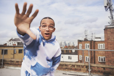 Perri Kiely in a new Glasses Direct ad campaign