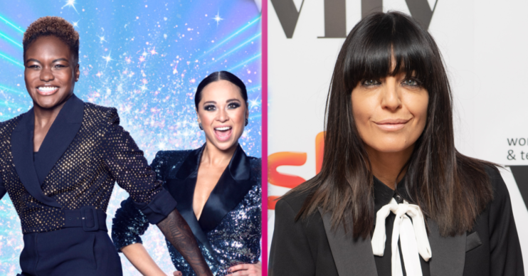 Claudia Winkleman breaks silence on Nicola Adams and Katya Jones Strictly exit